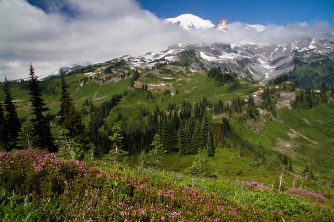 Mount Rainier's East Side