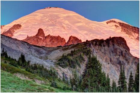 Close Up of Mount Rainier