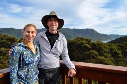Motuara Island overlook