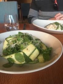 Zucchini salad:)