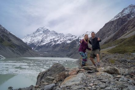 Hooker Valley, Mt. Cook (day 6)
