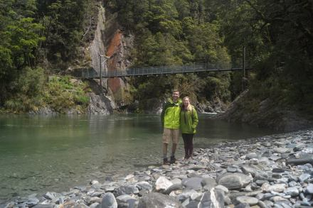 Blue Pools Hike, Haast Pass (day 4)