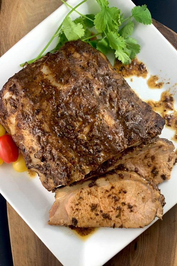 Jerk Pork Loin Roast