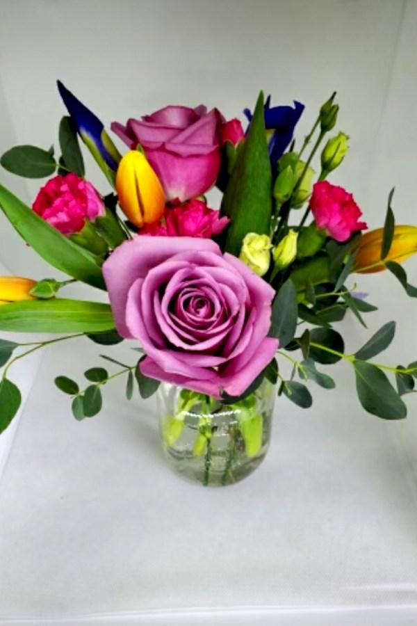 Easter Flower Jar