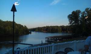 Awesome view of Lake Anna