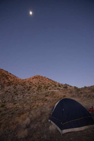 moon rise moon set morning moon full moon mojave desert camp campsite tent wild camping
