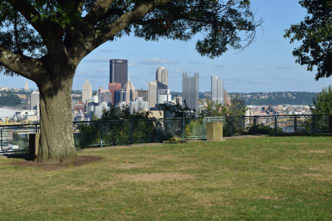City of Pittsburgh from West End Overlook Park