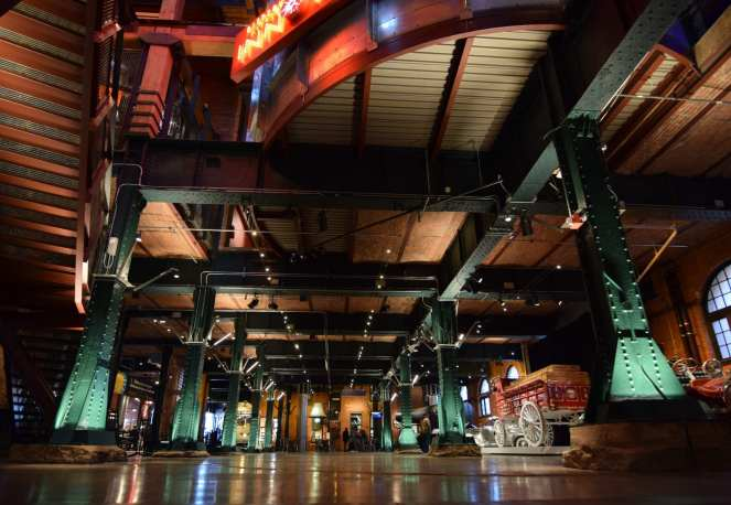 Heinz History Center Pittsburgh main hall lobby