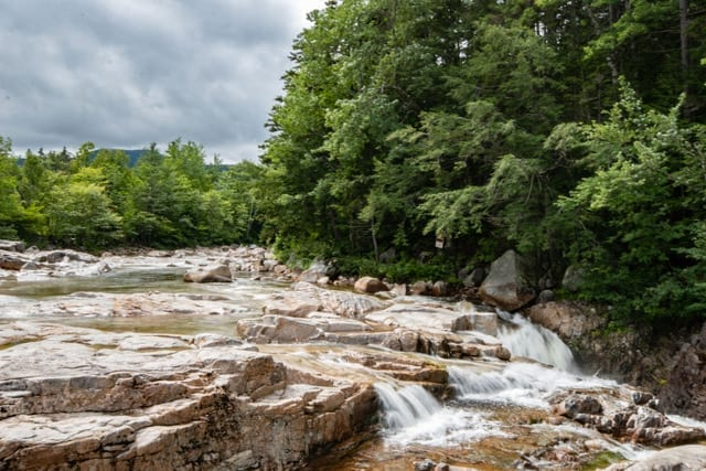 rocky gorge scenic area swift river white mountain national forest new hampshire