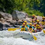 Whitewater rafting in Ohiopyle state park