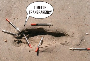 **Updated**  Syringe Services Biennial Report – continued lack of respect & transparency to community