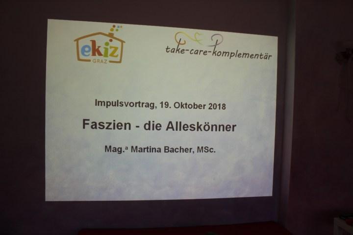 """Frauengesundheit – erfolgreicher Impuls-Vortrag und """"hands-on"""" mit Faszien-Werkzeug"""