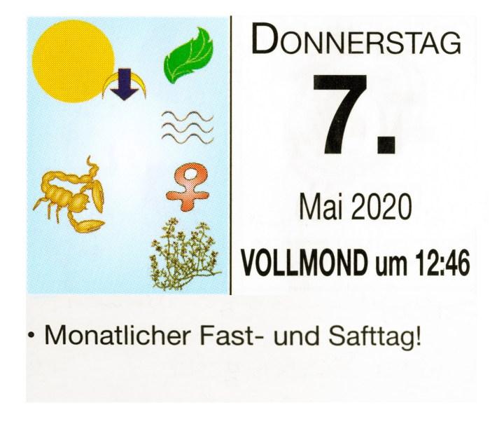 #5 Vollmond-Fastentag
