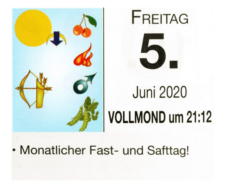 #6 Vollmond-Fastentag