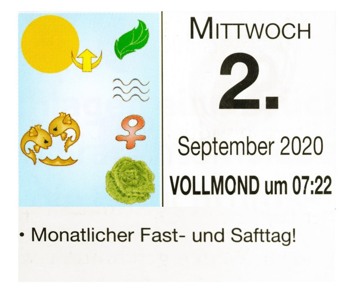 #9 Vollmond-Fastentag