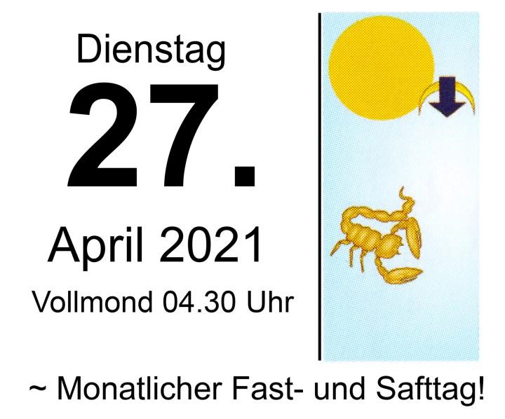 #4 Vollmond-Fastentag