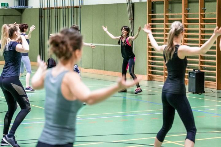 Fitness in der Gruppe