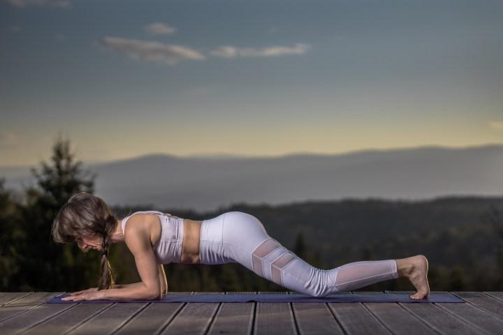 Plank auch in der leichten Version möglich