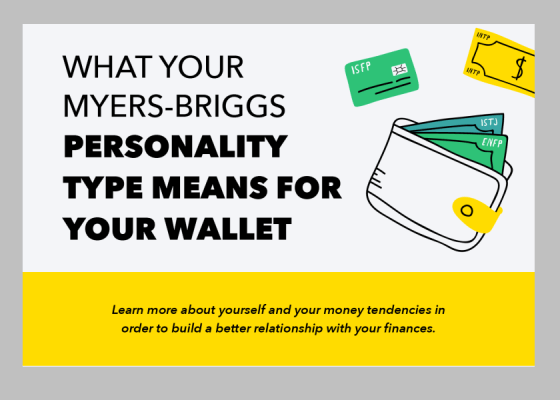 Myers-Briggs personality types and money tips