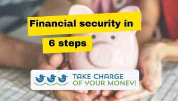 6 steps to financial security