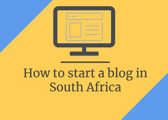 How to start a blog in South Africa