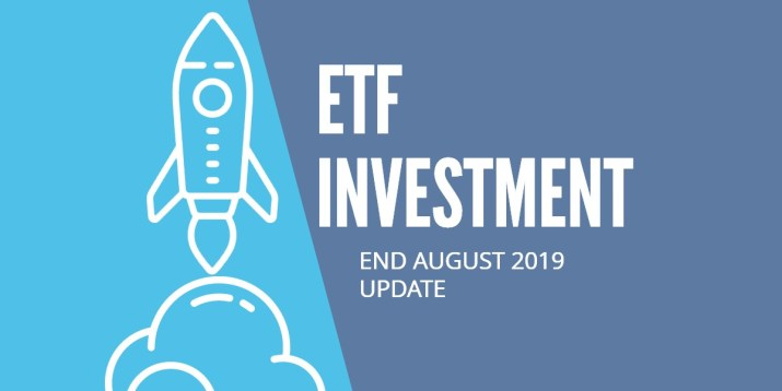 ETF Investments with EasyEquities as at August 2019