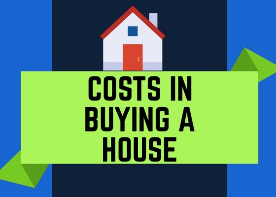 Costs involved in buying a house