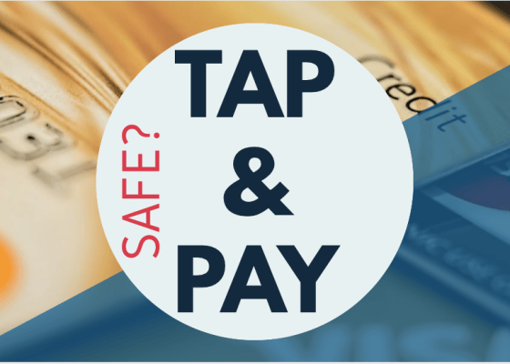 Are tap & pay cards safe to use?