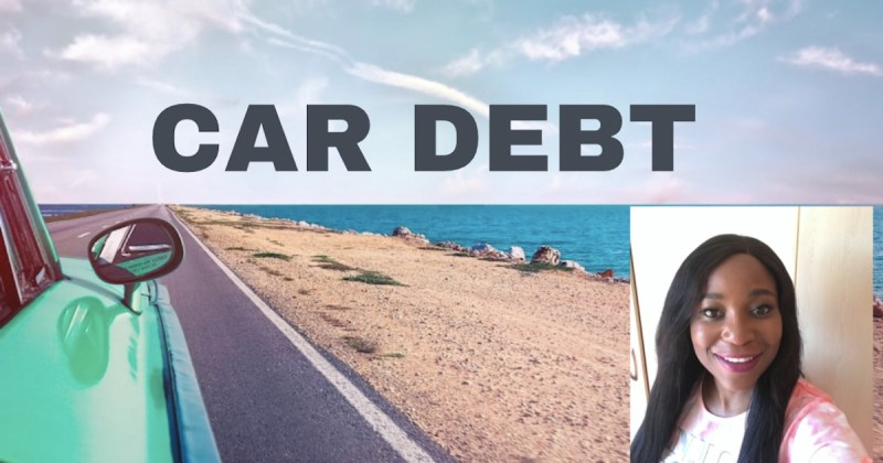 Samanthas car debt story