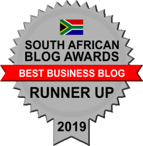 Best Business Blog Runner up