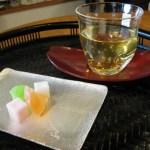 泡グラス エクボ冷茶茶碗