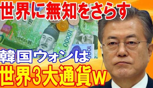 【海外の反応】衝撃!!「日本円」の世界3大通貨について「韓国ウォン」が世界中に無知をさらけ出すww「日本?大した事ないです」→韓国人はドヤ顔で語る・・・【日本の魂】