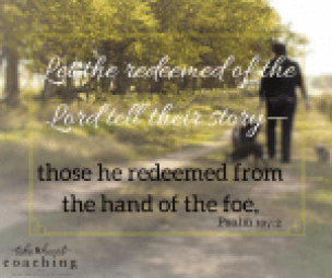 2 Let the redeemed of the Lord tell their story— those he redeemed from the hand of the foe, (1)