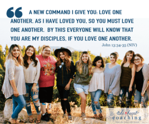 Love one another John 13:34-5