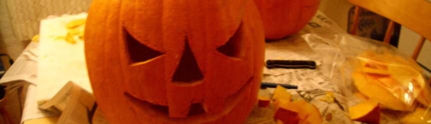 ハロウィーンのかぼちゃの作り方