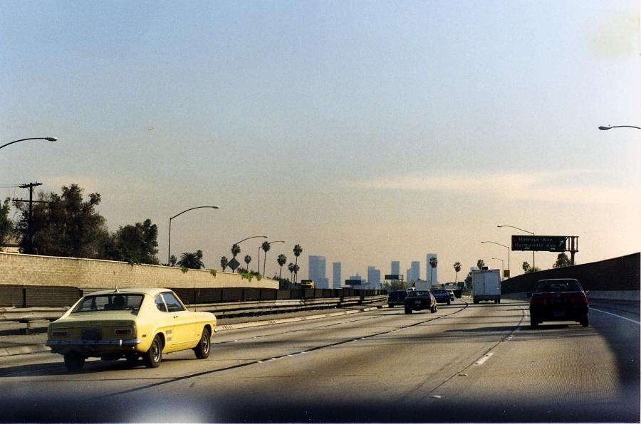 カリフォルニアをドライブ
