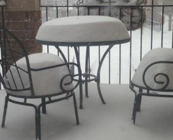 カナダの大雪