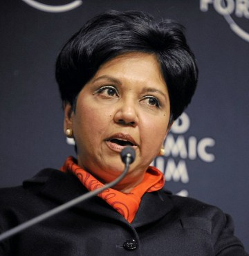 ペプシコCEOのIndra Nooyi (from wikipedia.org)