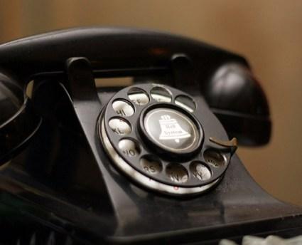 アメリカで電話