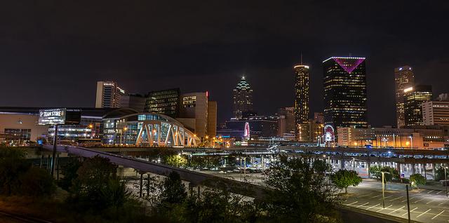 Atlanta Skyline Downtown