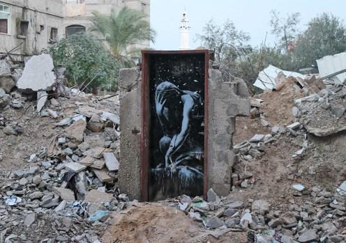 Bomb damage, Gaza City