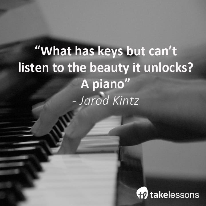 piano keys quote