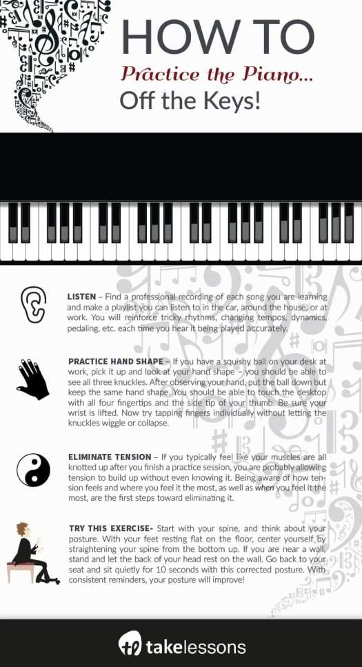 How to Practice Piano: Tips for Exercises OFF the Keys ...