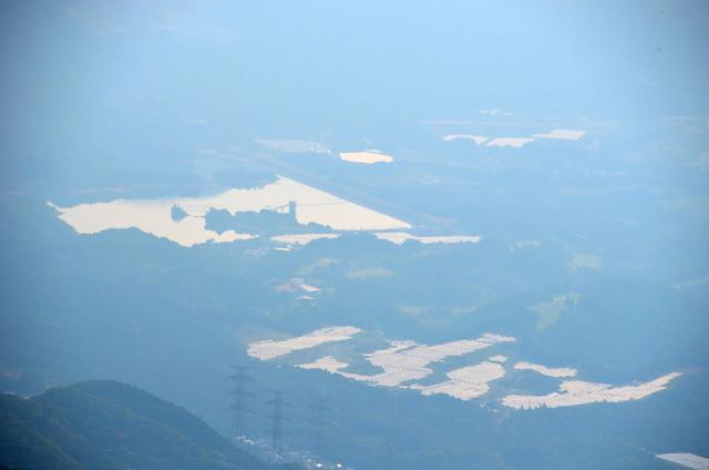 鈴北岳 中里ダム方面