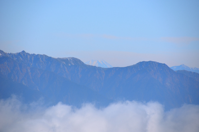 御嶽山 登山 富士山