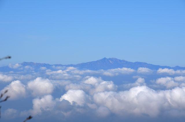御嶽山 登山 小坂口 白山方面