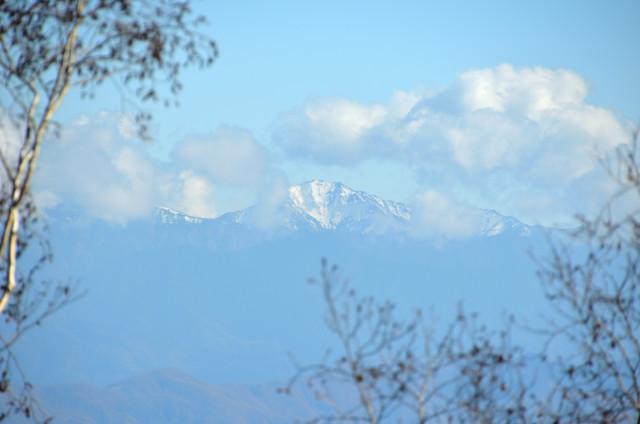 池山からの眺め 南アルプス