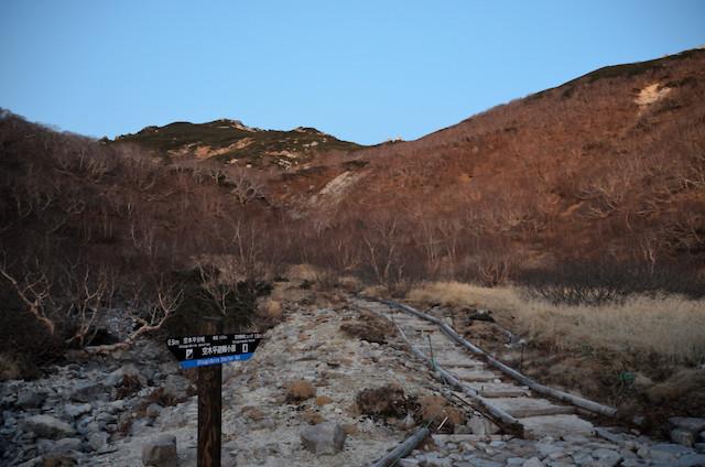 空木平避難小屋〜空木岳