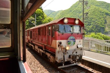 大井川鉄道 長島ダム駅