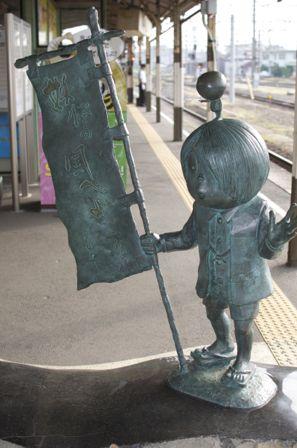 JR米子駅 ゲゲゲの鬼太郎